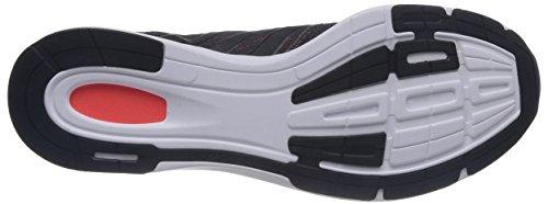 adidas - Zapatos para correr para hombre, Black 1/Black 1/Infrared, 47 1/3 EU (12 )