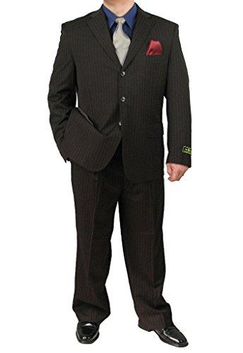 Brown 3 Button Suit - 5