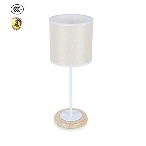 Lámparas de Mesa de Madera Maciza Lámparas de Cabecera ...
