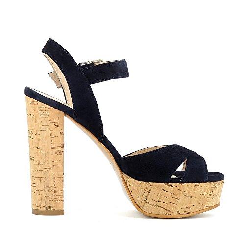 Sandales Lana femme Bleu pour Shoes Evita Foncé PWZgEg