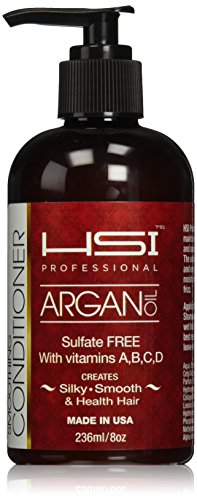 HSI Professional Smoothing Conditioner with Argan Oil, 8 Oun