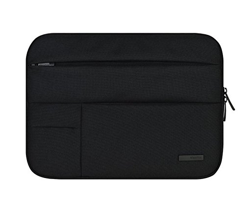Jlyifan Black Denim Busniess Carrying Sleeve bag Breifcase Cover for HP Spectre x2 12 / Elite x2 (1012) / HP Pavilion x2 12.1 / HP Pro Slate 12 / Sony Z4 Tablet Pro 12
