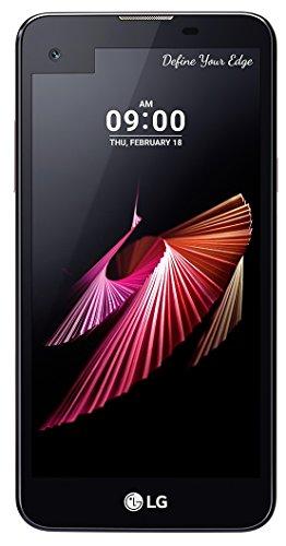 LG X Screen Smartphone (12,7 cm (5 Zoll) Touch-Display, 16 GB interner Speicher, Android 6.0) schwarz