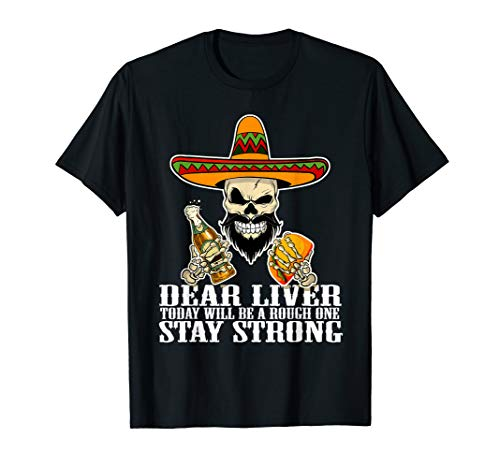 l Be A Rough One Mexican Skull T-Shirt ()