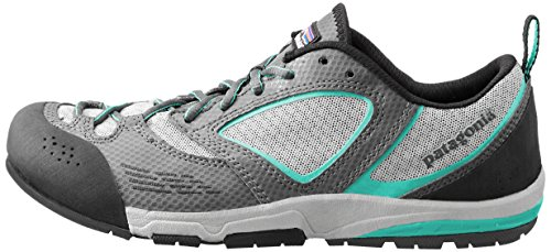 083d611a Patagonia Women's Rover Trail Running Shoe,Forge Grey/Desert Turquoise,8.5  M US