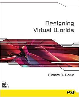 83de768289a7 Designing Virtual Worlds  Richard Bartle  9780131018167  Books - Amazon.ca