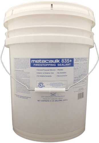 Rectorseal 66019 5-Gallon Pail Metacaulk 835+ Firestop Silicone Sealant by Rectorseal