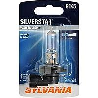 SYLVANIA 9145 SilverStar Bombilla de niebla halógena de alto rendimiento, (contiene 1 bombilla)