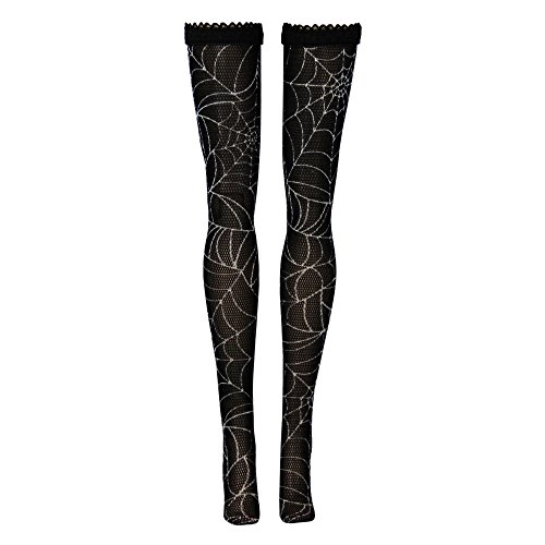 Monster High Doll Stockings - Spider Webs - Doll Clothes - Fits Monster High Dolls (Monster High Daughters)