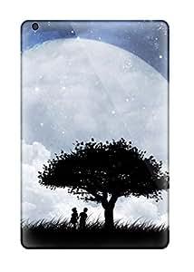 Hot RkpVQae816BTiPw Love On The Moon Tpu Case Cover Compatible With Ipad Mini/mini 2