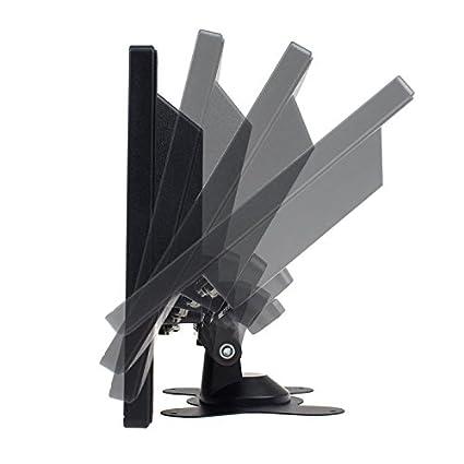 Eyoyo 8 Inch TFT LCD Pantalla de monitor de video en color 1024x768 VGA BNC AV HDMI entrada Altavoz incorporado para PC CCTV Seguridad para el hogar