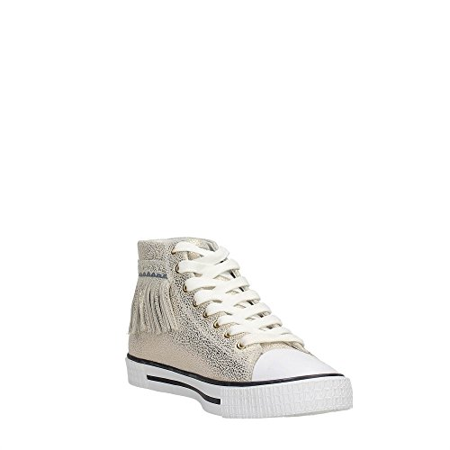 Trussardi Jeans 79S514 Sneakers Mujer Oro