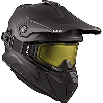 8220f5f17da CKX Titan Off-Road Modular Helmet (Matte Black) - Includes 210° Goggles  (Medium)