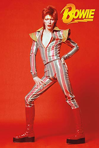 David Bowie Glam Poster, Size 24x36