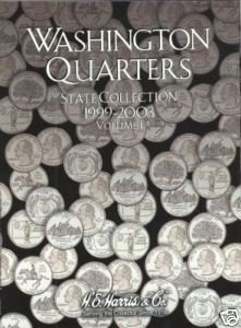 New Washington State Quarter Year Set Coin Folder 99-03