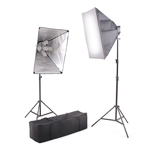 Kaezi Video Lighting Kit Photo Studio Kit 2000 Watt Digital Video Continuous CH9026S by Kaezi Photography