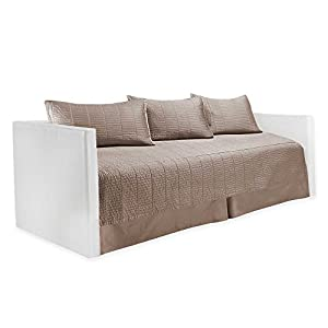 real simple dune daybed bedding set taupe