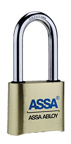 ASSA Lock SRB37 Resettable Brass Padlock - Assa High Security Locks