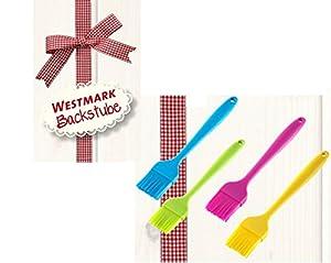 Westmark Silikon Brat-Pinsel Back-Pinsel pink