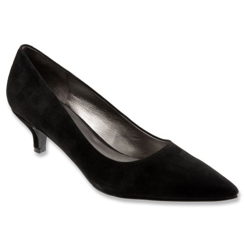 find great cheap online clearance high quality Trotters Women's Paulina Pump Black Kid Suede cheap sale shopping online really sale online ahMR50qg