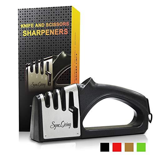Sync Living Knife and Scissor Sharpeners
