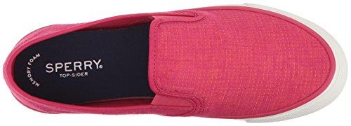 Sperry Top-sider Donne Mare Bicolore Biancheria Sneaker Rosa / Corallo