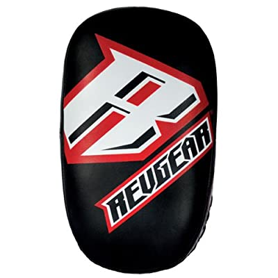 Image of Boxing Pads Revgear Curved Thai Pads Pair (One Size)