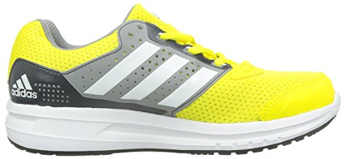 adidas Duramo 7 K - Zapatillas de running para niño Amarillo / Blanco / Gris