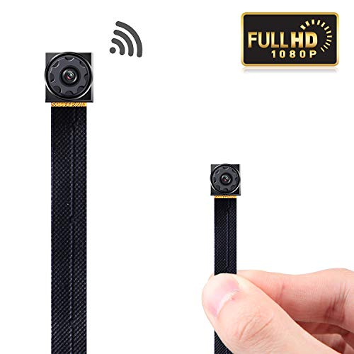 GZDL Mini Spy Camera WiFi - Small Hidden Cameras Wireless - Tiny Nanny Can HD 1080P - Covert Home Monitoring - Security Surveillance Cams Cell Phone iPhone App