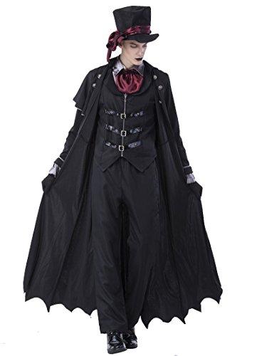 RGA Seraph of The End Vampires Krul Tepes Uniform Cosplay Costume (X-Large, (Male Flight Attendant Halloween Costume)