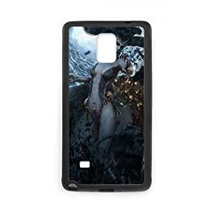 D4R13 fan art odisea paria M8Y3DV funda Samsung Galaxy Note 4 carcasa del teléfono celular Funda Cubierta Negro AI2QGN4FC