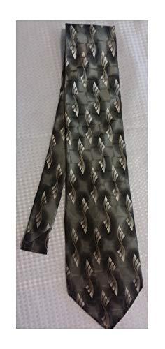 - Stafford Olive Green Silk Necktie
