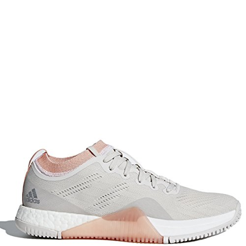 (adidas Crazytrain Elite Shoe - Women's Training 8 Chalk Pearl/White)
