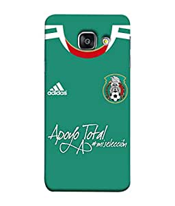 ColorKing Football Mexico 06 Green shell case cover for Samsung A5 2016