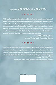 American Amnesia: How the War on Government Led Us to Forget What Made America Prosper from Simon & Schuster