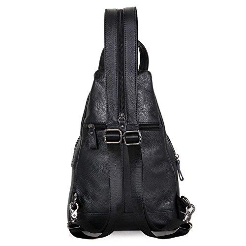 Jellybean Handgemachte Leder,Brust Tasche, Rucksack,Schultertasche,Schule, Wandern Reisetasche, Schultertasche