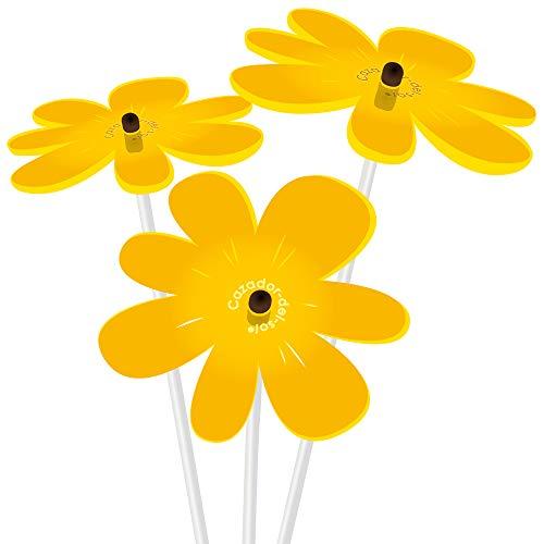 - Cazador-del-sol - Suncatcher - Mini Sunflower Bouquet - Yellow