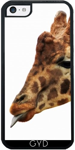 Coque Silicone pour Iphone 5C - Girafe Faune Afrique Enfants by WonderfulDreamPicture