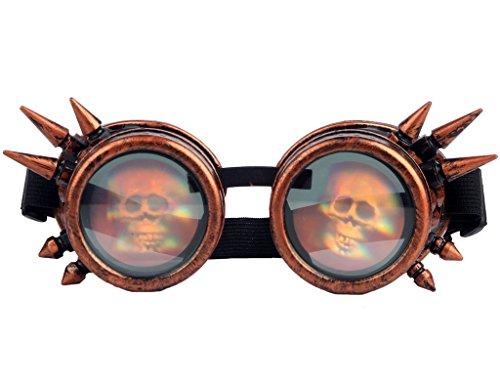 Kaleidoscope Steampunk Goggles