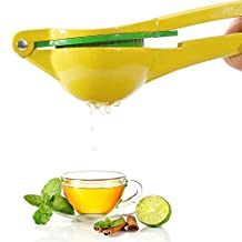 Premium Quality Metal Lemon Lime Squeezer - Manual Citrus Press Juicer
