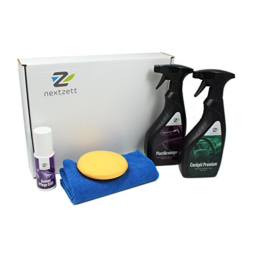 nextzett 400010 Interior Car Care Kit (5-Piece) (Einszett Plastic Deep Cleaner compare prices)