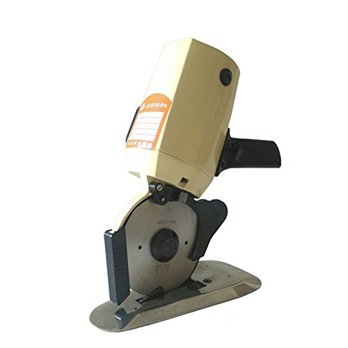 HUKOER Motor Round Knife cloth Cutting Machine Portable Electric cutting paper cloth leather cutting machine by HUKOER