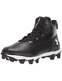 Under Armour Boys Hammer Mid Rm Jr. Wide Football Shoe