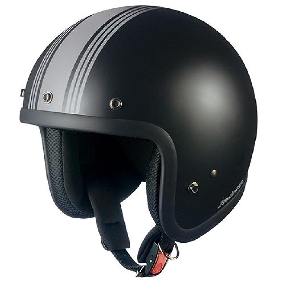 砂のあいまいな行オージーケーカブト(OGK KABUTO)バイクヘルメット ジェット EXCEED DELIE(デリエ) ホワイトブラック (サイズ:XL) 577100
