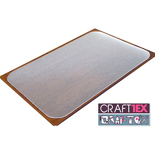 Craftex Ultimate Table Protector. Polycarbonate with anti-slip coating. 35'' x 71''. Excellent Quality. by floortex