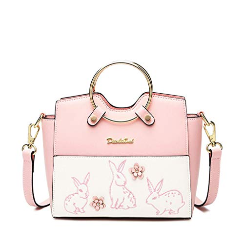 Messenger Evening Clutch One Pink Size Shoulder Bags Beige HZx6zw