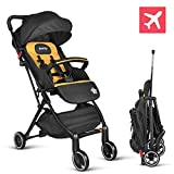 besrey Baby Stroller Pram Baby Carriage Reclining Seat for Airplane Compartment - Dark Gray