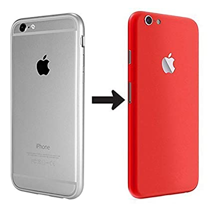 size 40 b627e 808d7 GADGETS WRAP Apple iPhone 6 (Product) Red Special Edition Converter Skin.  Back only