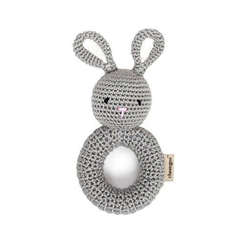 Cheengoo Organic Crocheted Bunny Ring Rattle