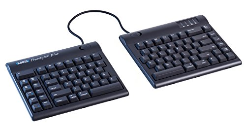 KINESIS Freestyle2 Blue Wireless Ergonomic Keyboard for Mac (20 Extended Separation)